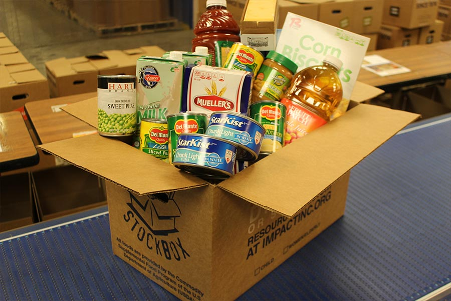 Food Drives Oct-Dec 2020